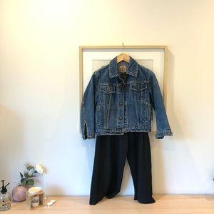 Vantage cropped denim jacket